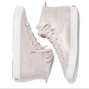 0e7a6b63f21c Keds Shoes - NEW Keds Kickstart Hi in Rosegold Linen